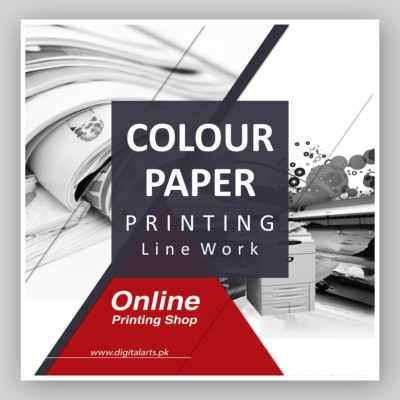 Colour Paper Printing (Line Work)